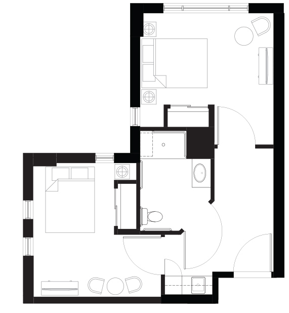 Lions Gate Floorplan 2 bedroom