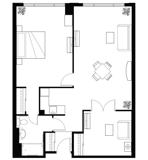 Bayview_Onebedroom+Den_IL