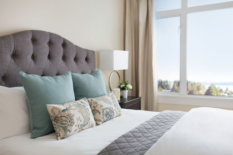 Independent Living suite at Amica White Rock in BC