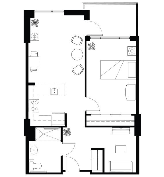 West Vancouver_IL_OneBed+Den
