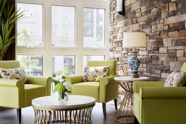 Memory Care lounge at Amica Dundas