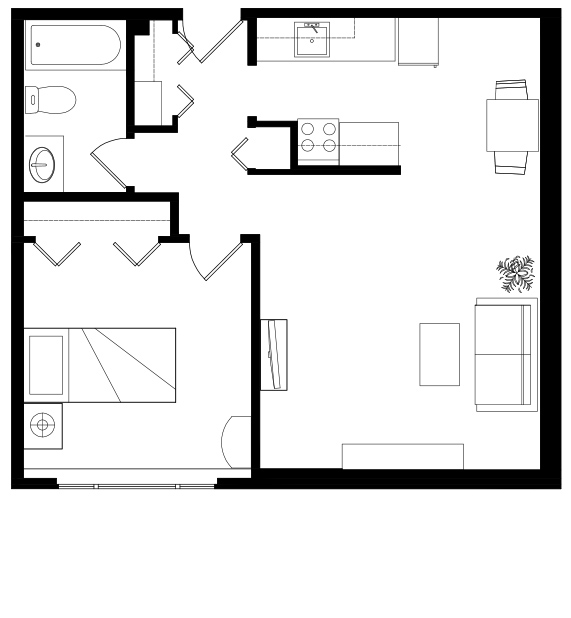 Douglas_House_IL_OneBed