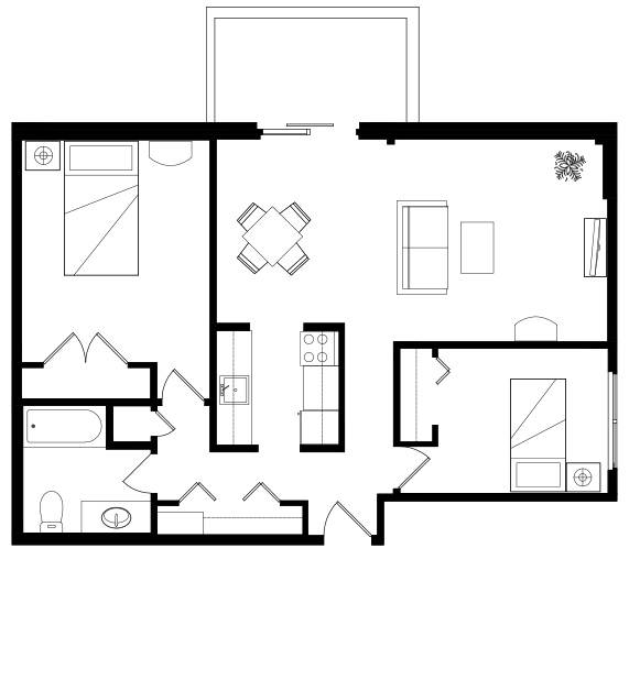 Douglas_House_IL_TwoBed