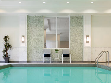 Indoor swimming pool at Amica Bronte Harbour