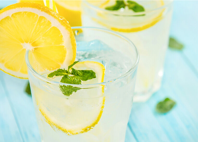 ice-cold lemonade