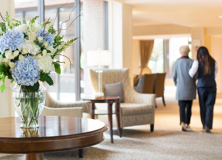 Flexible Care at Amica senior living residences.