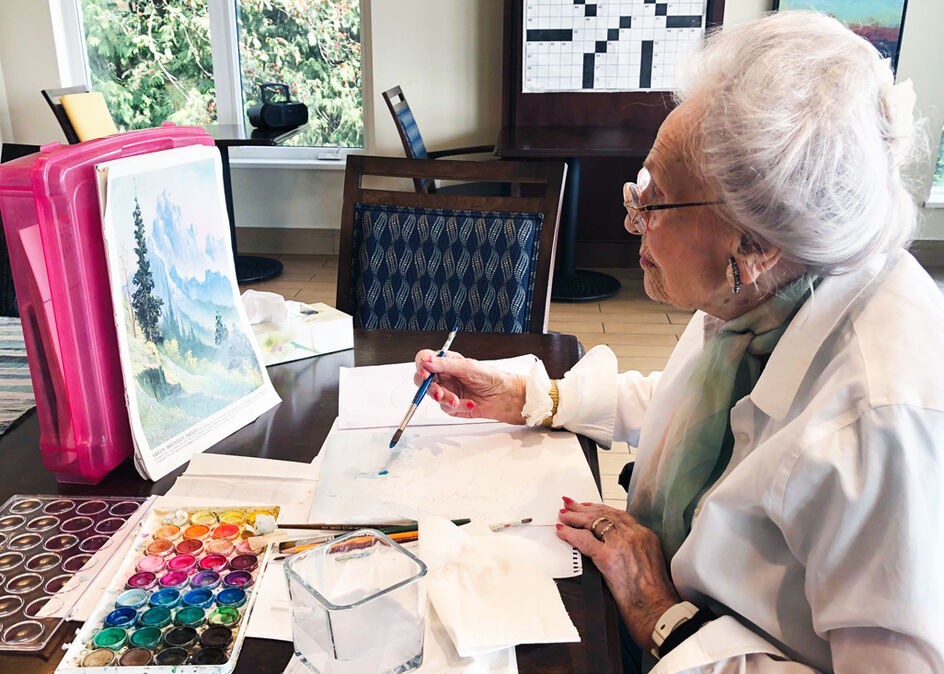 Seniors connect and learn how to draw and paint at online workshops in The Art Gallery of Ontario's Virtual Seniors Social program, sponsored by Amica