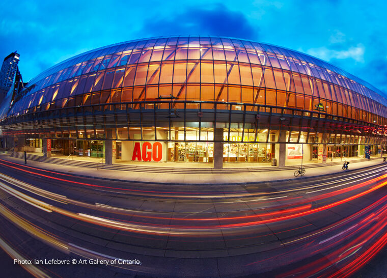 An exterior shot of the Art Gallery of Ontario - Photo: Ian Lefebvre © Art Gallery of Ontario
